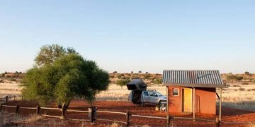 Bagatelle Kalahari Game Ranch Campsite