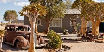 Canyon Roadhouse Campsite Gondwana Collection Namibia