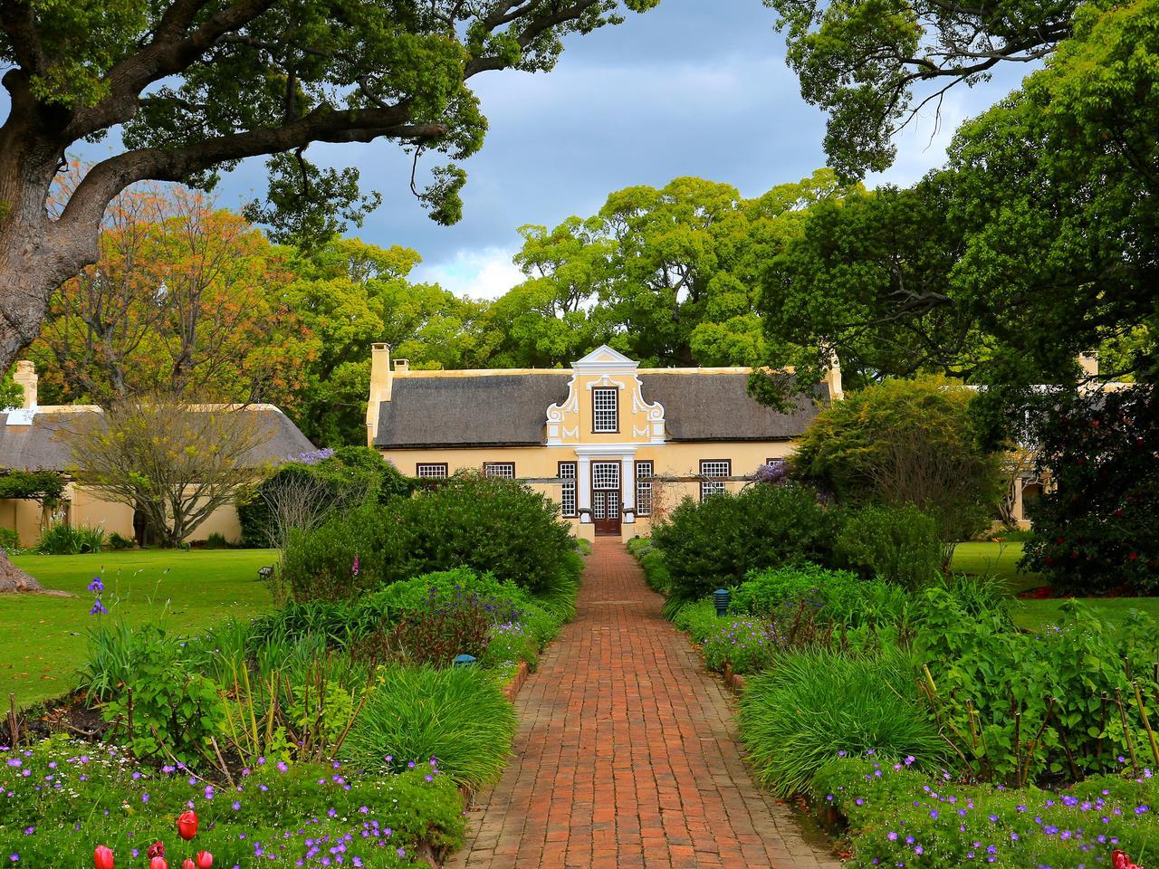 Wijngebied rondom Stellenbosch